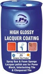 High glossy lacquer coating