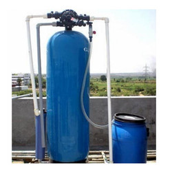 Mild Steel Water Softening Plant