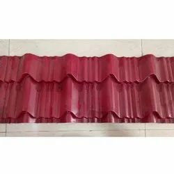 Red Tile Roofing Sheet