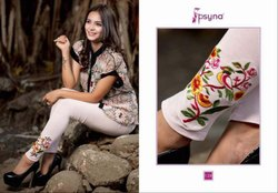 Psyna Embroidery Leggings