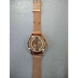 Ladies Golden Watch