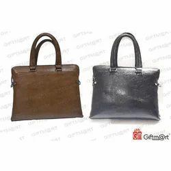 Giftmart Brown And Grey Sling Bag, Model Number: B-020