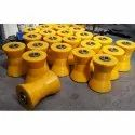 Conical Pipe Roller PU Coated