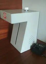 MS powder Coated Hand Sanitizer Dispenser