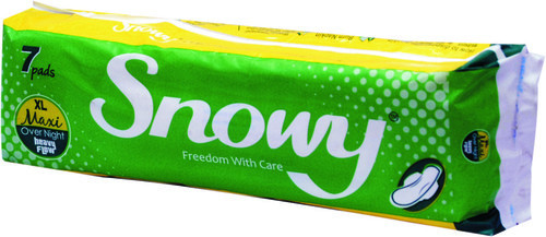 Sanitary Pads - Snowy XL Maxi 7 Pads Dry Net Manufacturer