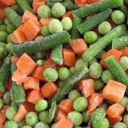 Frozen Mix Vegetables, Packaging: Plastic Bag