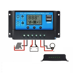 PWM Solar Charge Controllers 20a