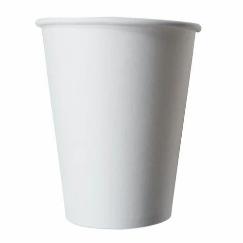Plain Fiber Paper Cup, Capacity: 150 ML, Use: Hot Beverages | ID