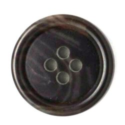 Brown Polyester Button, For Garments, Packaging Type: Packet