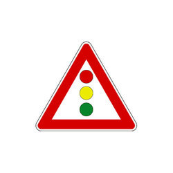 Traffic Signal Sign Board