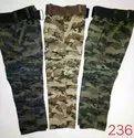 Kids Cotton Military Pants