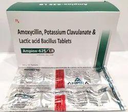 Amoxycillin 500mg, Clavulanic Acid 125 mg LB