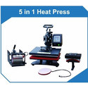 5 In1 Combo Heat Press Sublimation Machine