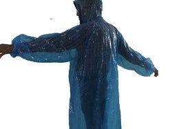 S Protection Waterproof Rain Ponchos Raincoat Rainwear Hooded Camping