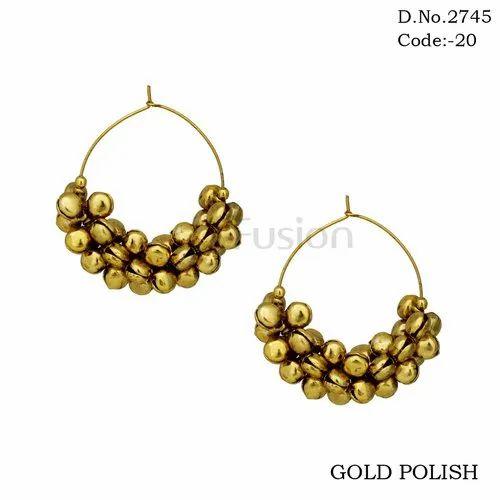 Earrings - Designer Meenakari Peacock Stud Earrings Exporter