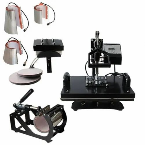 Automatic 6 in 1 Combo Heat Press Mobile Covers