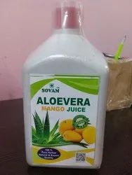 Sovam Aloevera With Mango Juice, Packaging Size: 500-1000 Ml, Packaging Type: Bottle