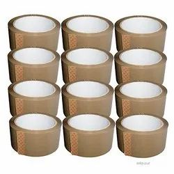 Self Adhesive Brown BOPP Tape, Packaging Type: Box