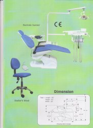 Programmable Electrical Dental Chair-(Deluxe)