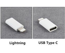 Vyapak Cable Adapter (MicroUSB to Type-C / MicroUSB to 8-Pin iPhone)