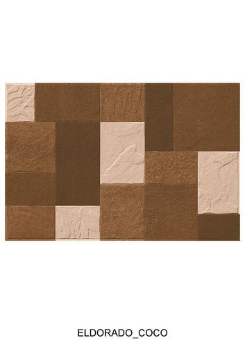 Embossed Ceramic Elevation Wall Tiles Size 12 X 24 Inch