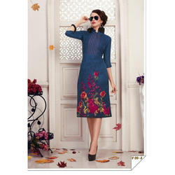 Small, All Sizes All Fancy Straight Kurti