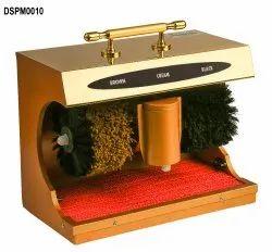 Gold Automatic Shoe Shining Machine
