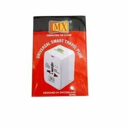 2 White Universal Smart Travelling Plug, Model Name/Number: 2731