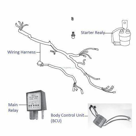 Bajaj Bikes Electrical Part