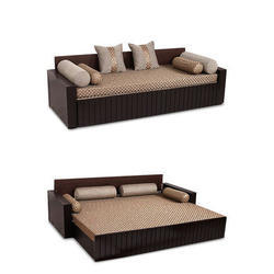 Wooden Sofa Bed In Thane लकड क स फ पल ग