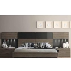 Marine Plywood Brown Home Modern Bed, Size: 5x6 Feet