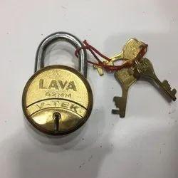 Brass Pad Lock 1