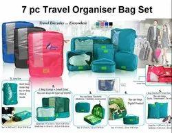 Travel Organizer Bag Set - 7 Pc