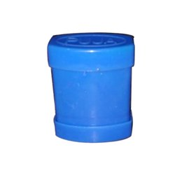 Blue Plastic Tobacco Box