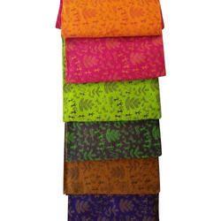Printed Cotton Block Print Suit, GSM: 100-150