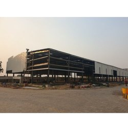Mild steel Pre Engineered Modular Mezzanine Building