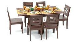 Danway Rectangular Dining Table 6 Seater Set