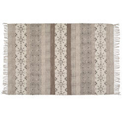 Designer Cotton Printed Handmade Rugs