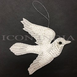 Handmade Christmas Dove Hanging