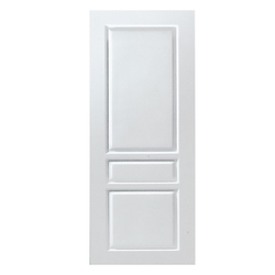 HDF White Panel Door, Size/Dimension: Width 30 & Height 78 inch