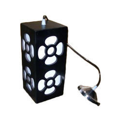 Cool White LED Wooden Hanging Lamp