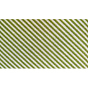 Green Strip Knitted Fabric