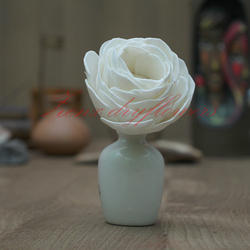 Sola White Lotus For Air Fragance, Size/Dimension: 8 Cm