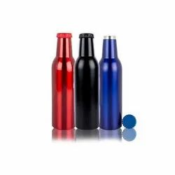 Stainless Steel Screw Cap Torino Hot And Cold Bottle, Capacity: 500 Ml, Size: 24.5 X 6.5 X 6.5 Cm