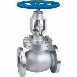 Stainless Steel Globe Valve Flange End, For Industrial