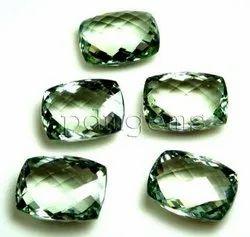 Green Amethyst Cushion Gemstone