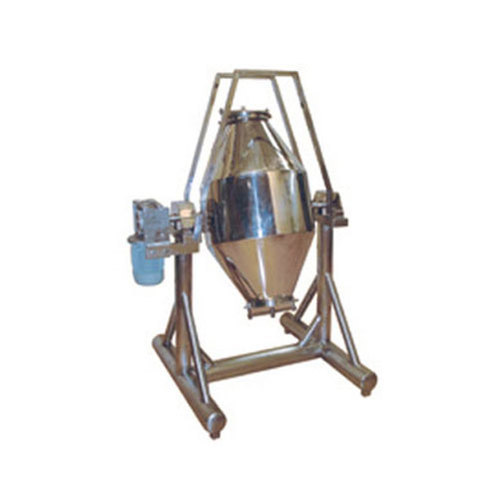 Double Cone Blender Machine, Capacity: 10-250 Kg/batch
