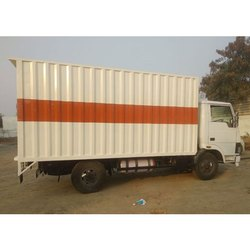 Polished Insulated Truck Container