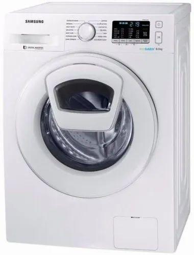 Samsung 8 kg Fully Automatic Front Load Washing Machine, WW80K5210WW/TL, White