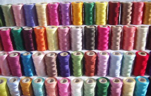 Polyester Hand Embroidery Thread Pack Size 10 Pieces Rs 135